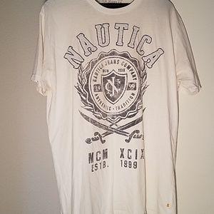 Nautica Jean's Male /female tee shirt